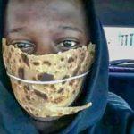Maske mit Proviantwirkung